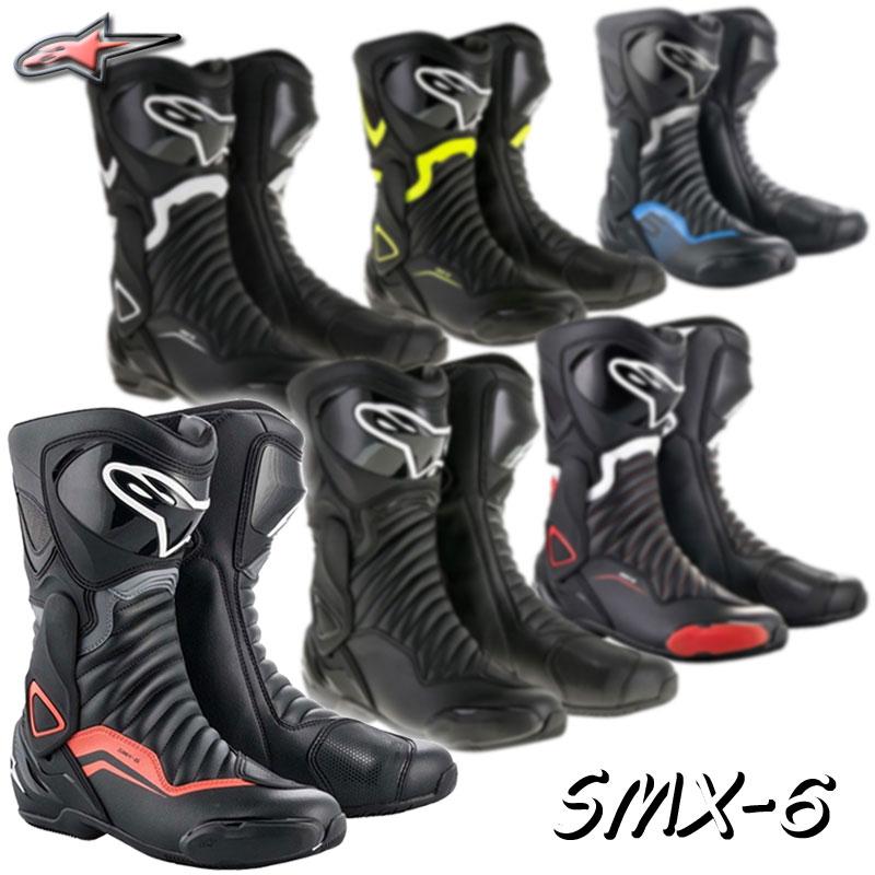 ★送料無料★ SMX 6 v2 BOOT Alpinestars/アルパインスターズ S-MX 6 2223017柔軟性と安定性が向上し、よりレーシングタイプのブーツへと進化!SMX-6/代引き不可