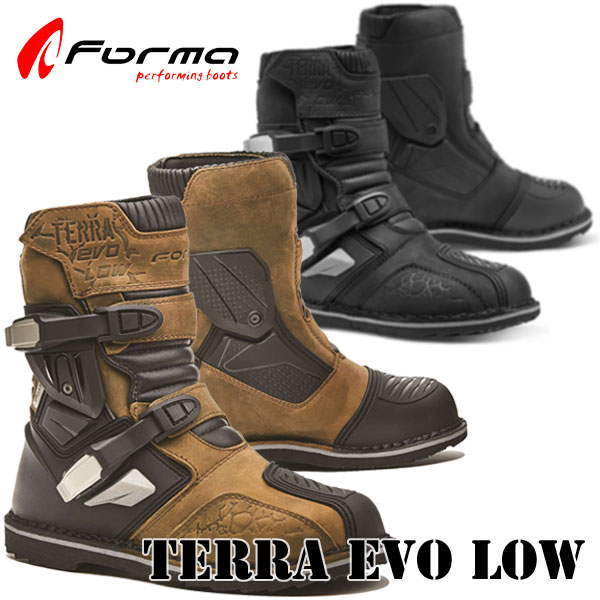 送料無料 Forma TERRA EVO LOW 待望の本格アドベンチャーブーツに人気のショートタイプが登場 エヴォ ロー
