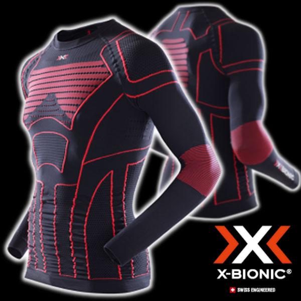 ★送料無料★X-BIONIC MOTO ENERGIZER I020287(Xバイオニックモトエネジャイザー)バイク用アンダーウェア(冬用)ラウンドネック
