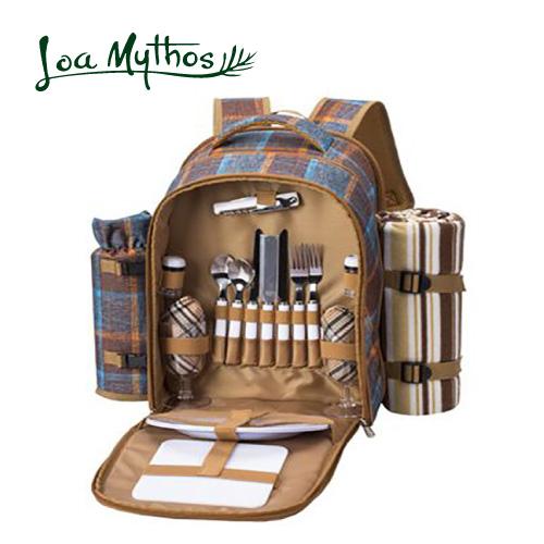 《あす楽》【LoaMythos】 ロアミトス ピクニックリュック 2人用 1001420リュック ピクニック リュックサック アウトドア フォーク スプーン ナイフ まな板 食器 栓抜き おしゃれ かわいいアップデート ひるおび