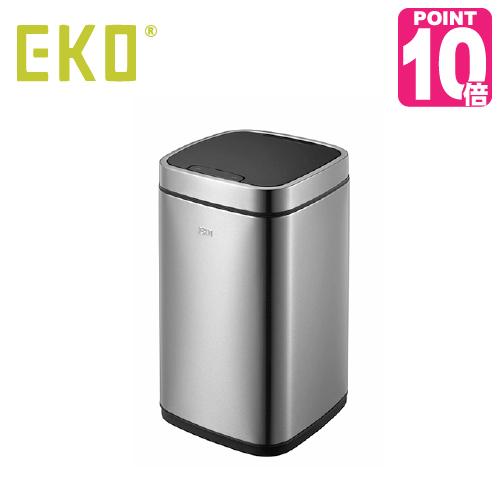 《ポイント10倍》EKO eko ゴミ箱 12L エコスマートセンサービン センサー式 ステンレス キッチン ふた付き 介護用 ダストボックス ごみ箱 ごみばこ オムツ おむつ 蓋つき ゴミ袋 見えない コンパクト アップデート