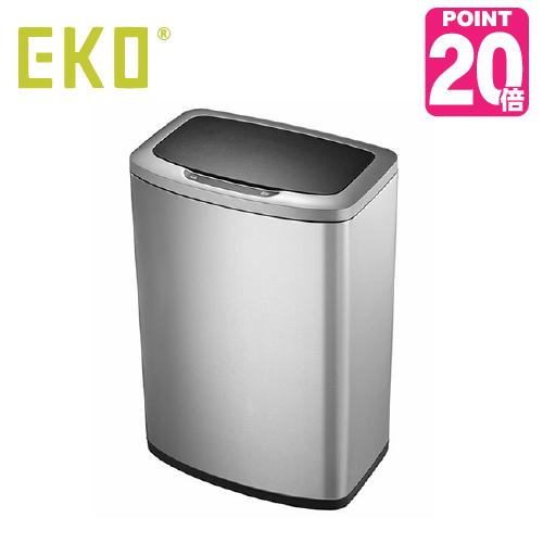 《ゴミ袋特典あり》EKO eko ゴミ箱 MONIA SENNSOR BIN  モニアセンサービン45L EK9236MT-45L センサー開閉 キッチン ステンレス ふた付き 介護用 ダストボックス ごみ箱 おしゃれ ゴミ袋 イーケーオー コンパクト アップデート