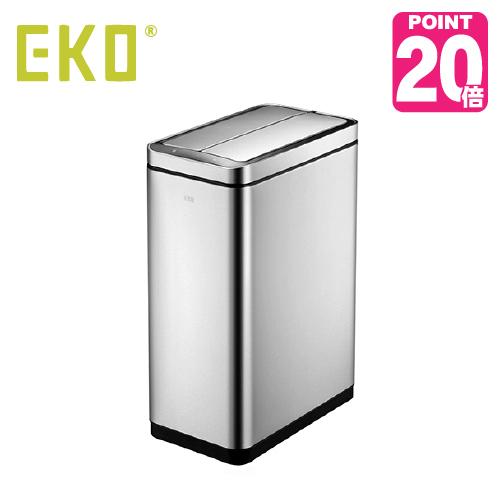 《ゴミ袋付》EKO eko ゴミ箱 DELUX PHANTOM デラックスファントム センサービン 45L EK9287MT-45L 45L センサー開閉 キッチン ステンレス ふた付き 介護用 ダストボックス ごみ箱 おしゃれ ゴミ袋 イーケーオー コンパクト アップデート
