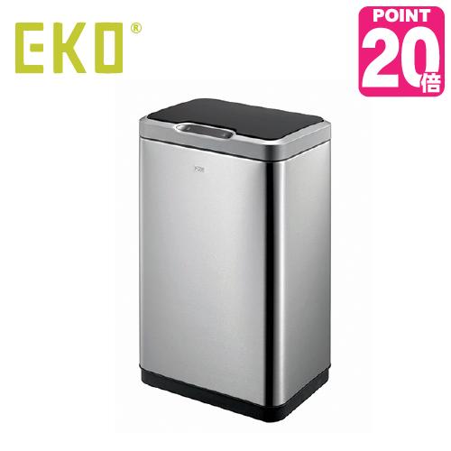 《ゴミ袋付》EKO eko ゴミ箱  MIRAGE SENSOR BIN ミラージュセンサービン 45L EK9278MT-45L センサー開閉 キッチン ステンレス ふた付き 介護用 ダストボックス ごみ箱 おしゃれ ゴミ袋 イーケーオー コンパクト アップデート