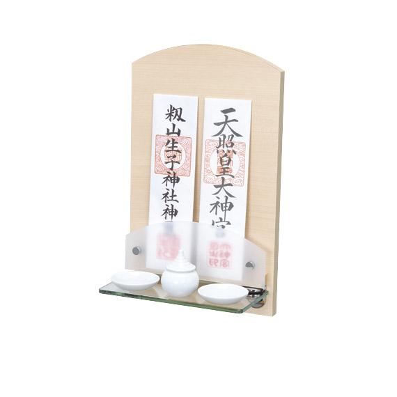 Neoシリーズ神棚 Neoミニ ヒノキ+神具セット 【選べる専用神具をセットに!】