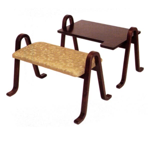 【御詠歌用机・椅子】雲居 御詠歌用机・椅子セット [寺院用仏具 寺院 お寺用品]【メモリアルアートの大野屋】