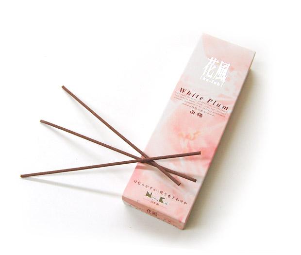 線香 ご自宅用 微煙線香 微煙 白梅 驚きの値段で 新品 小バラ詰 花風