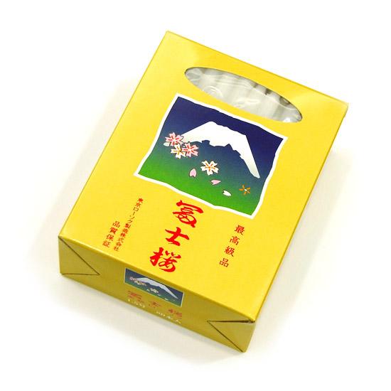 【ローソク】富士桜 大ローソク 1.5号 (燃焼時間約1時間・80本入り) 30個セット