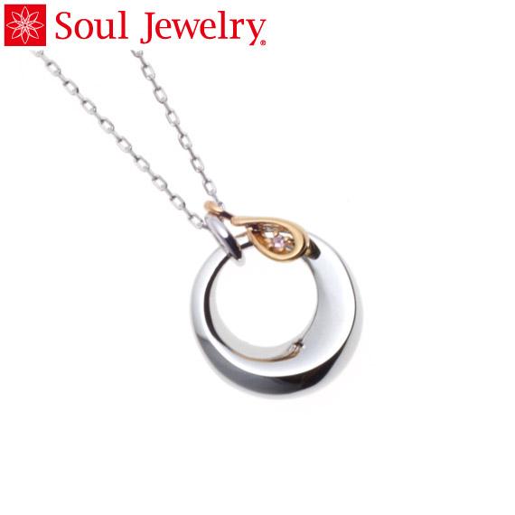 遺骨ペンダント Soul Jewelry チャーム ティアドロップ (色:ゴールド) シルバー925 『ダイヤモンド』
