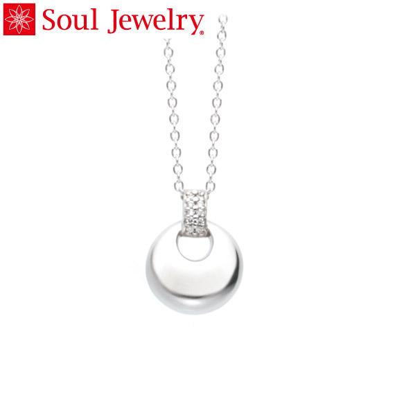 遺骨ペンダント Soul Jewelry パヴェ ドロップ シルバー925