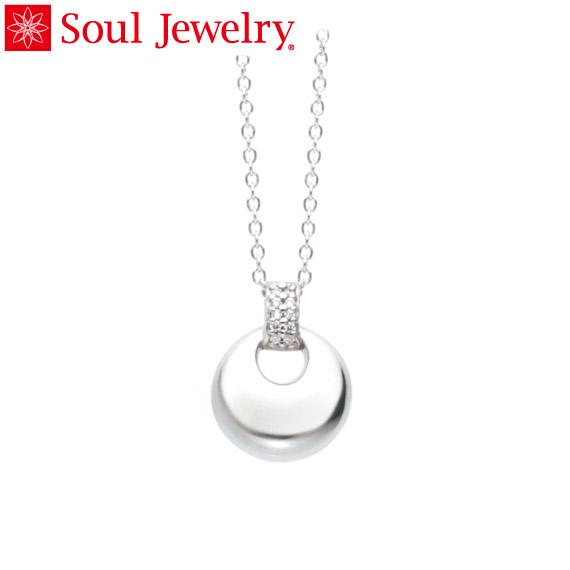 遺骨ペンダント Soul Jewelry パヴェ ドロップ Pt900 プラチナ (予定納期約4週間・代引のご注文は不可)