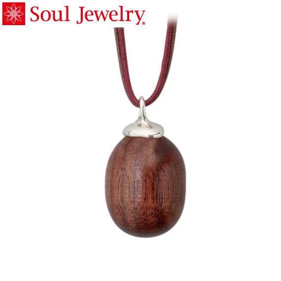 遺骨ペンダント Soul Jewelry カジュアル ウッド プレーン