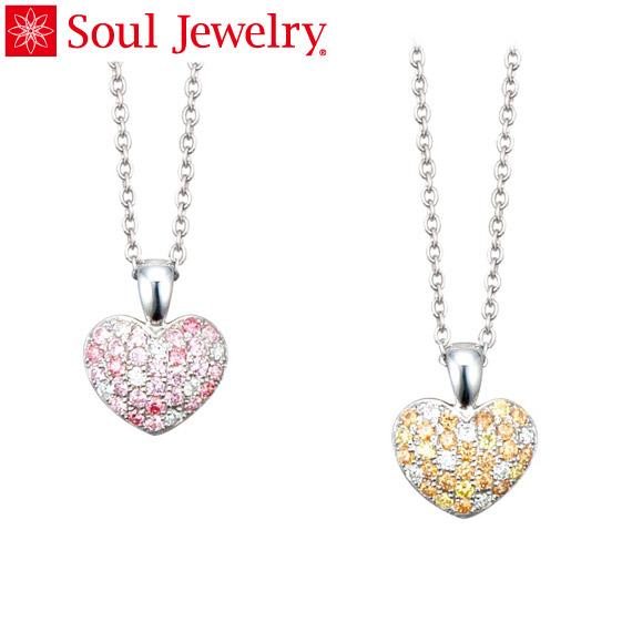 Soul Jewelry パヴェプチハート Made with SWAROVSKI ZIRCONIA シルバー925