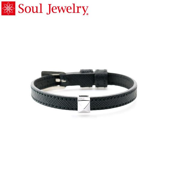 遺骨アクセサリー Soul Jewelry ブレスレット リストブレス 【ピッコロ】 シルバー925 2つのベルトから選べます