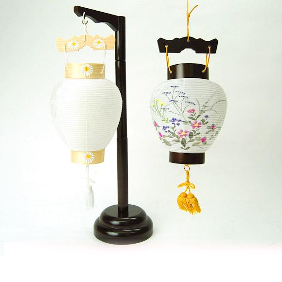【ネットショップ限定価格!】 【壷型提灯】吊り下げ台付き提灯 奏(5829)