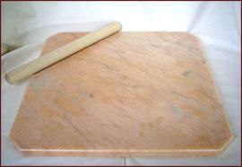 大理石のし台 大理石こね台 製菓台  ピンク色 サイズ:40×40cmパン ・ ピザ ・ お菓子作りに大活躍!《 のし棒 プレゼント 》石種: ポルトガル産 大理石  ローズオーロラ チョコレート ・ テンパリング ・ パイ生地 パンこね台