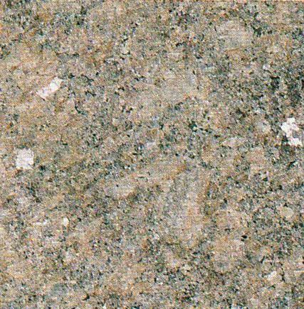 【送料無料】天然御影石規格タイルダコタマホガニー バーナー400×400×13(5枚入り)