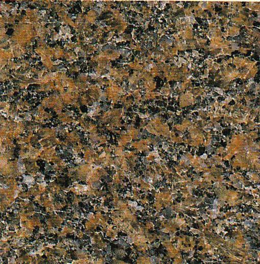 【送料無料】天然御影石規格タイルダコタマホガニー 磨き400×400×13(5枚入り)