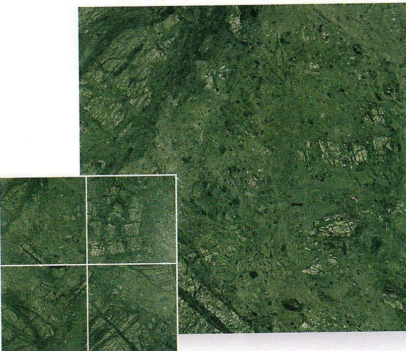【送料無料!!】天然大理石規格タイルインドジャモン 磨き400×400×12~15mm(5枚入り)