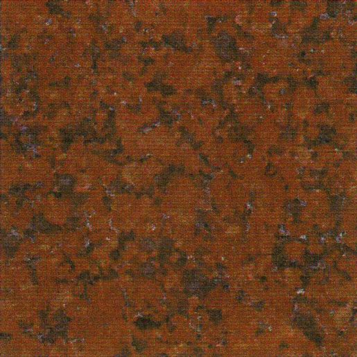 【送料無料】天然御影石規格タイルニューインペリアルレッド 磨き600×300×13(5枚入り)