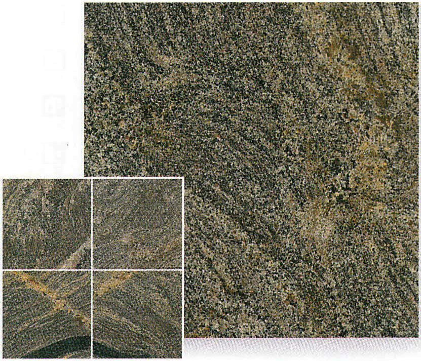 【送料無料】天然御影石規格タイルパラダイス 磨き300×300×10mm(10枚入り)