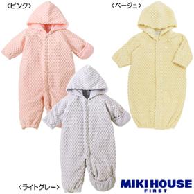 [mikihouse][ミキハウス]ふんわりポコポコ☆豪華なツーウェイオール(50cm-70cm)