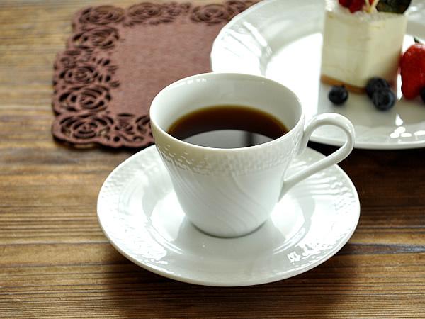 食器 コーヒーカップ おしゃれ カップソーサー 公式 珈琲 アウトレット ソーサー ジノリ風アンジェコーヒーカップ 白磁 ポーセラーツ 即出荷 カフェ風