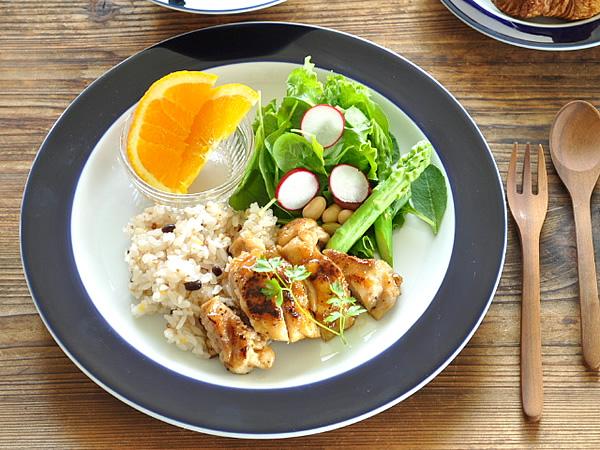 食器 大皿 売れ筋 おしゃれ 美濃焼 プレート リム皿 カフェ風 アウトレット 丸皿 日本全国 送料無料 ルリエット27.1cmディナー皿