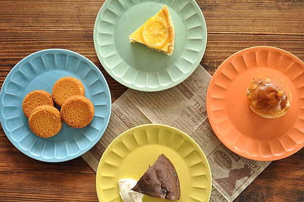 食器 取り皿 おしゃれ 中皿 美濃焼 ケーキ皿 アウトレット クレールしのぎ18.5cmプレート ラクレール 正規逆輸入品 出荷 カフェ風 ラ