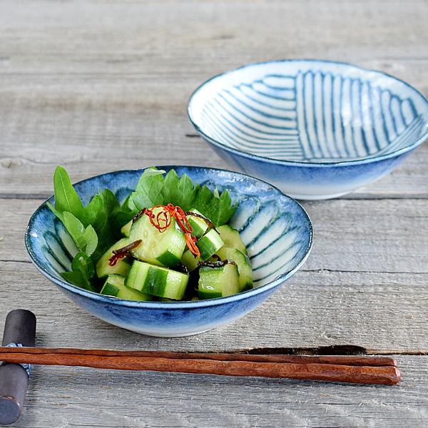 食器 小鉢 おしゃれ 和食器 モダン 美濃焼 ボウル 浅鉢 アウトレット カフェ風 令和粉引4.5小鉢