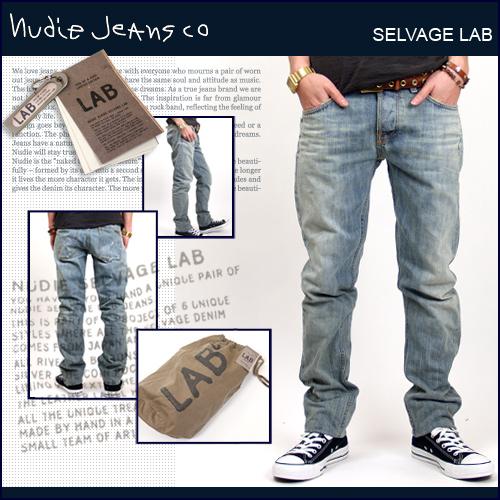 【テレビで話題】 Nudie Jeans ヌーディージーンズ NUDIE LAB LAB 6/[LAB TIM] Jeans NUDIE【YDKG-kd】, ムゲガワチョウ:620db201 --- agnarquitetura.com.br