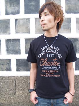 ♪ chactbe mi-215. ne-sorted limited message T shirt 10P30Nov13
