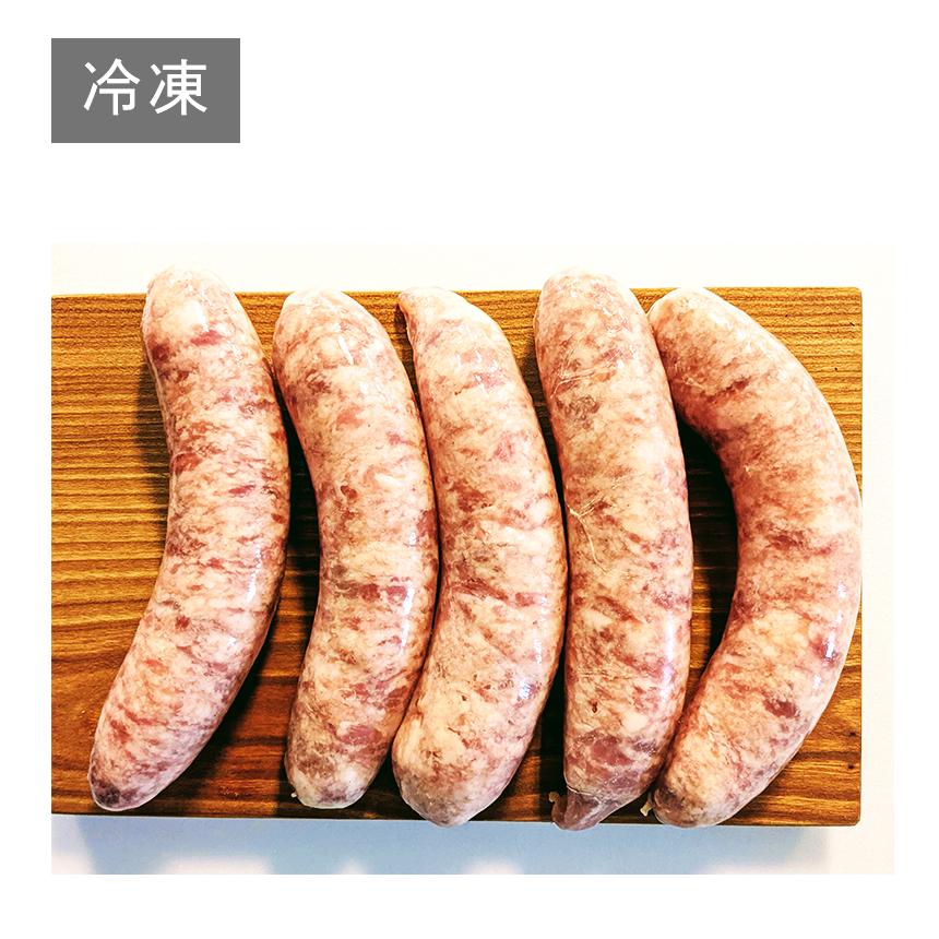 冷凍 ごちそうイベリコ豚 生ソーセージ プレーン 500g 国産 天然羊腸 スペイン 上質 ソーセージ 人気 おすすめ オールポーク