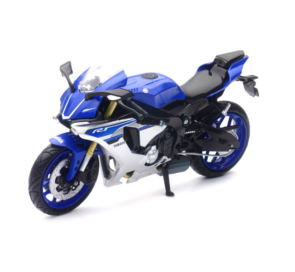 New Lei Yamaha 1 12 Motorcycle Yzf R1 Y Z F Are One Blue Blue New Lei Newray Yamaha Blue