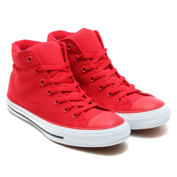 2b7181269d71 Kyoto Mibudo  ☆ CONVERSE ALL STARR STREET UM MID (red) all-star ...