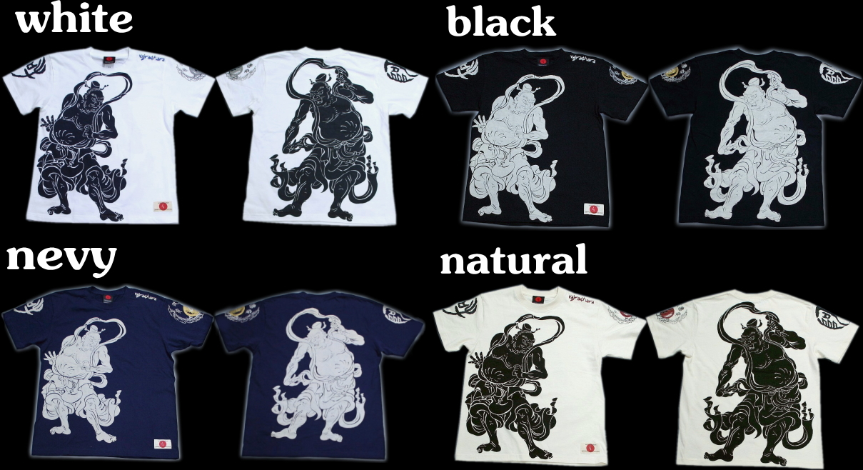 Kyoto Yuzen and Japanese pattern t-shirt kongorikishi image こんごうりきし images / Buddhist, pictures 10P13oct13_b