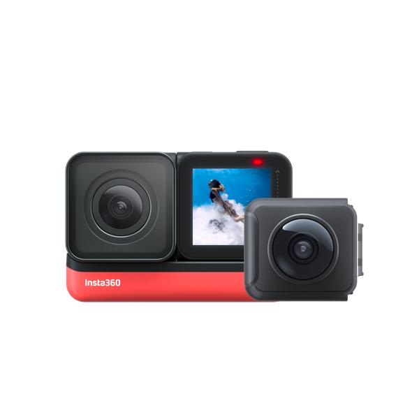 Insta360 ONE R Twin Edition ツイン版 超高画質 5.7K 360度撮影 4K 広角 手ブレ補正 HDR ハイパーラプスナイトショット