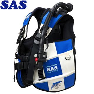 【SAS 】10445 ランドマークXII AACS-1 ホワイトシリーズ ホワイト/ブルー【送料無料】【02P05Aug18】