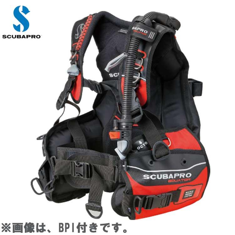 【スキューバプロ】EQUATOR (エクエイター) BCジャケット RED 21-725-XXXJ【20P20Oct18】