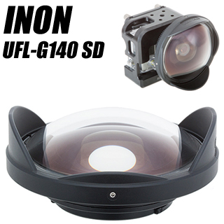 INON(イノン) 水中セミフィッシュアイコンバージョンレンズ UFL-G140 SD