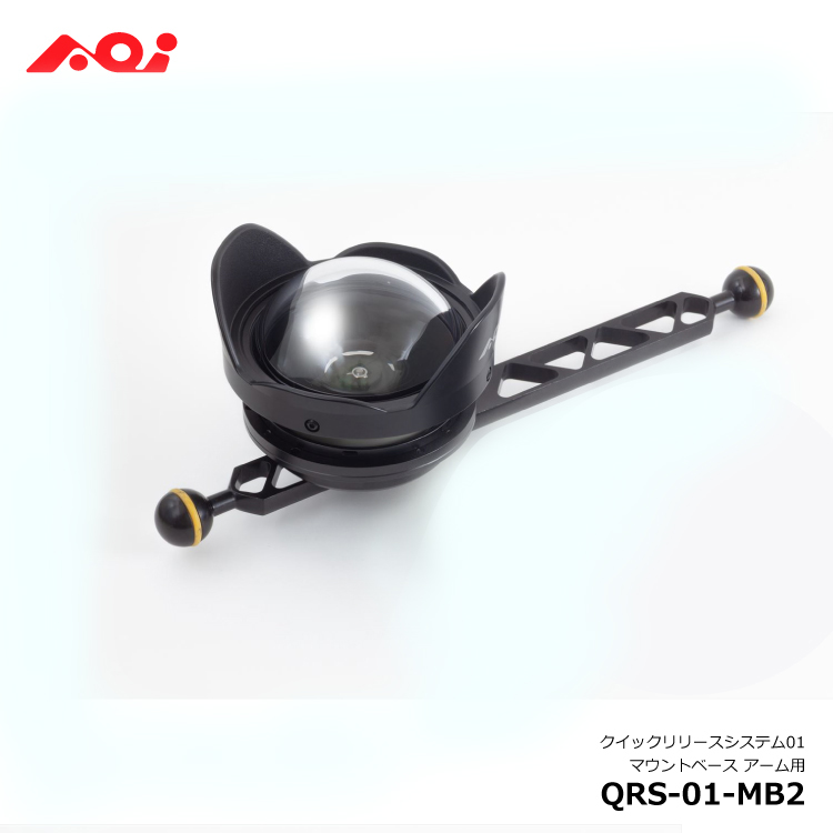 AOI 時間指定不可 店舗 クイックリリースシステム01 マウントベース QRS-01-MB2 アーム用