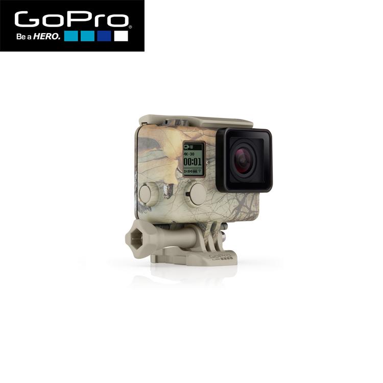 GoPro ゴープロ AHCSH-001 Camo Housing + Xtra 希少 Quickclip Realtree QuickClip カモフラージュハウジング モデル着用 注目アイテム