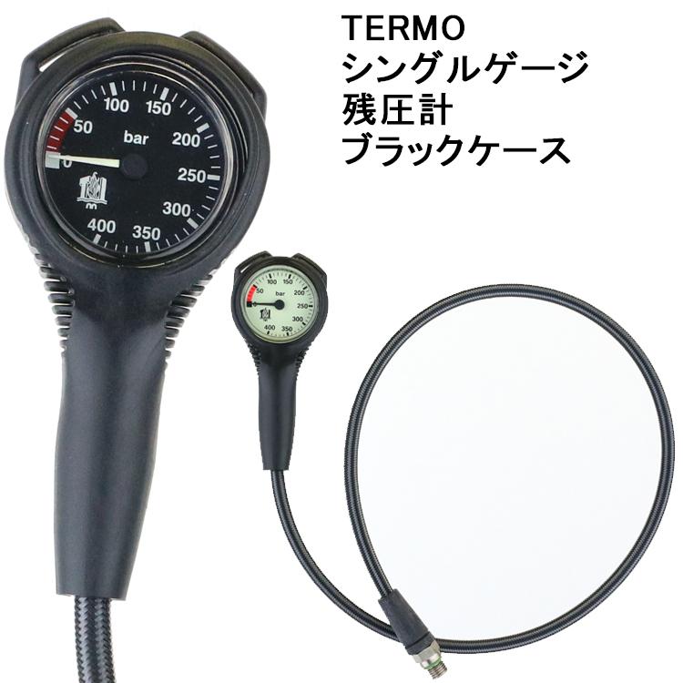 【TERMO】シングルゲージ ブラックケース【05P22Mar19】