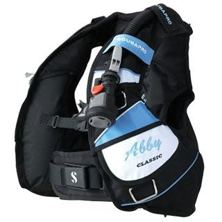 SCUBAPRO(水下呼吸器专业)CLASSIC ABBY CB BL(古典的阿比CB蓝色)BCD茄克单体
