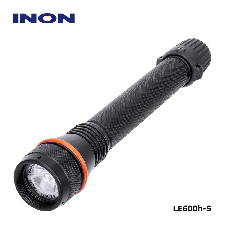 ブランド激安セール会場 INON イノンの人気ライトが高演色 高色温度LEDライトとして登場 ダイビング ライト イノン LE600h-S ターゲットライトとしてストロボと一緒に 水中スポットライト 写真撮影 mic-point 当店一番人気 LED 手持ちライト