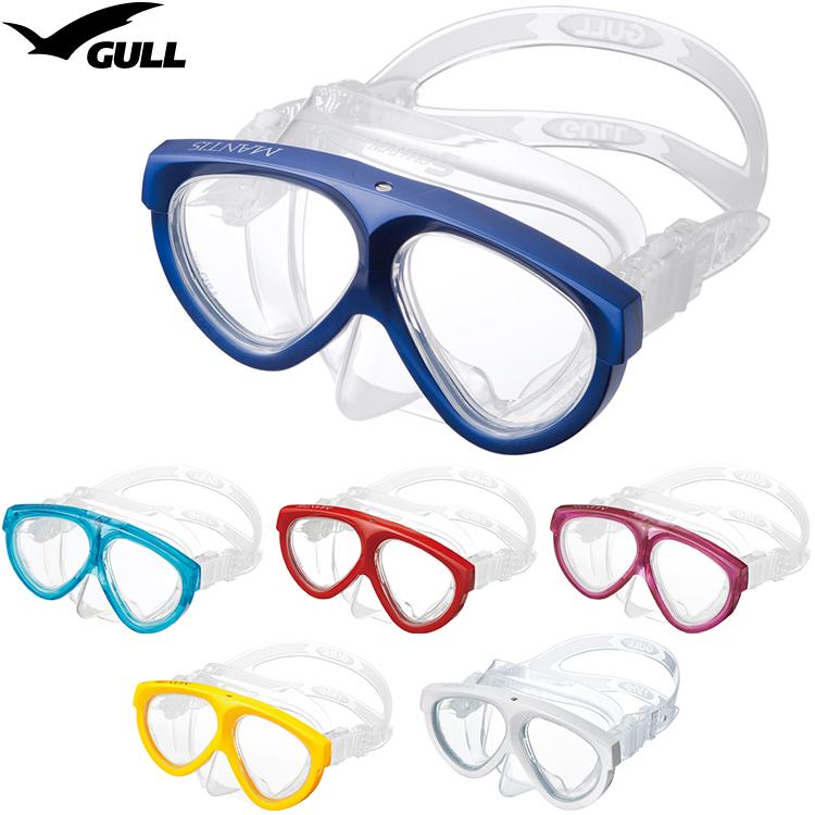 GULL(ガル) GM-1035 マンティス5シリコン ダイビングマスク【20P08Nov18】