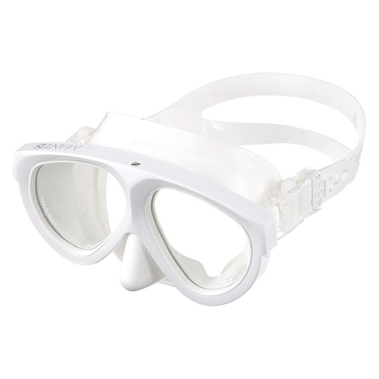 ダイビング マスク GULL(ガル) マンティス5 ホワイトシリコン GM-1036 【20P13Jul19】