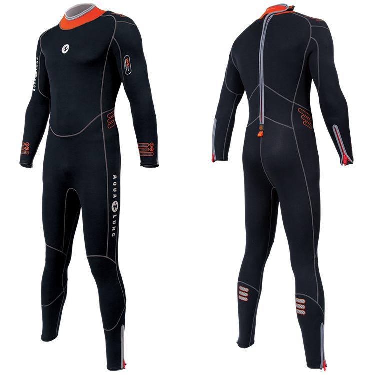 【アクアラング】5.5mm プレザント・ウェットスーツ [メンズ] ダイビング【02P04Apr19】