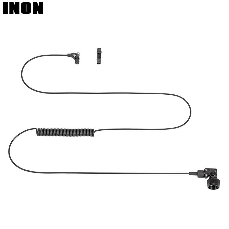 INON イノン OUTLET SALE 35%OFF L型光DケーブルLL 110cm ゴムブッシュセット2 1穴ゴムブッシュセット