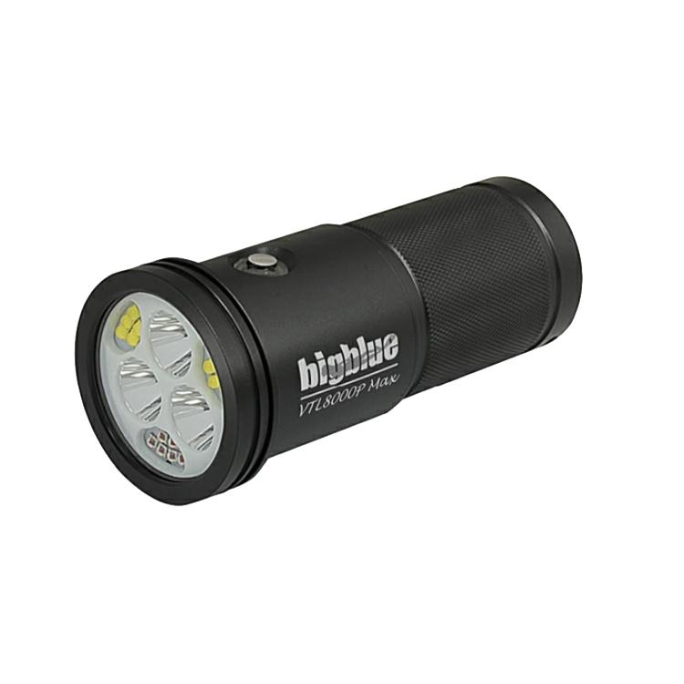 ダイビング ライト bigblue ビッグブルー VTL8000P Max ダイビング用水中LEDライト VTL-8000P Max